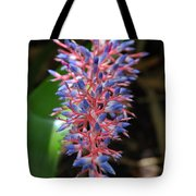 Blue Red Plant Tote Bag