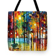 Blue Refelctions Tote Bag