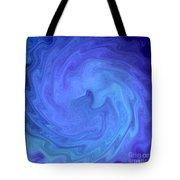 Blue Rendevous Tote Bag