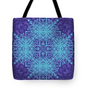 Blue Resonance Tote Bag