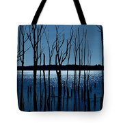 Blue Reservoir - Manasquan Reservoir Tote Bag