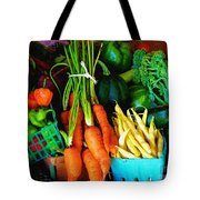 Blue Ribbon Harvest Tote Bag