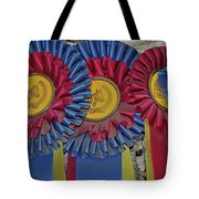 Blue Ribbons Tote Bag
