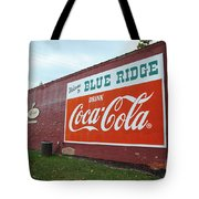 Blue Ridge Coke Tote Bag