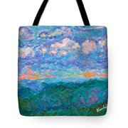 Blue Ridge Magic From Sharp Top Stage One Tote Bag