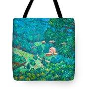 Blue Ridge Magic Tote Bag