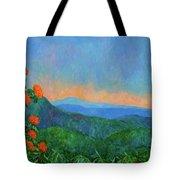 Blue Ridge Morning Tote Bag