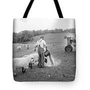 Blue Ridge Mountain Farmer Tote Bag