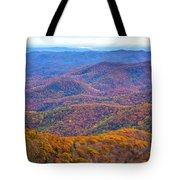 Blue Ridge Mountains 4 Tote Bag