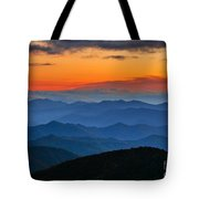 Blue Ridge Mountains. Tote Bag