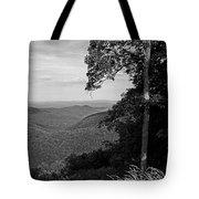 Blue Ridge Mountains - Virginia Bw 10 Tote Bag