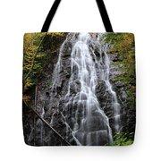 Blue Ridge Parkway Crabtree Falls In Autumn Tote Bag