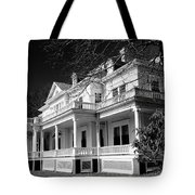 Blue Ridge Parkway Flat Top Manor Bw Tote Bag