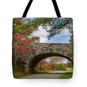 Blue Ridge Parkway Stone Arch Bridge Tote Bag