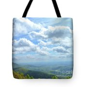 Blue Ridge Parkway Views - Rock Castle Gorge Tote Bag