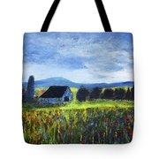 Blue Ridge Valley Tote Bag