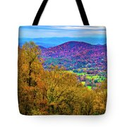 Blue Ridges Tote Bag