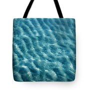 Blue Ripples Tote Bag