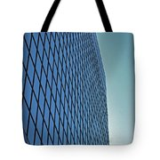 Blue Rise Tote Bag