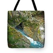 Blue River Tote Bag