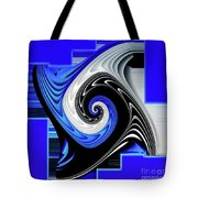 Blue River Tote Bag