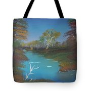 Blue River Two Tote Bag
