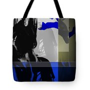 Blue Romance Tote Bag by Naxart Studio