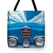 Blue Romeo Tote Bag
