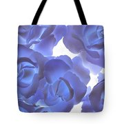 Blue Roses Tote Bag