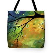 Blue Sapphire 2 By Madart Tote Bag