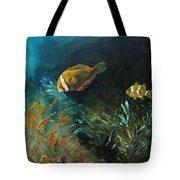 Blue Seas Tote Bag