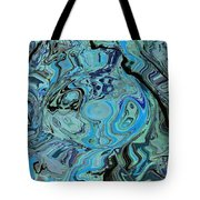Blue Shimmers Tote Bag