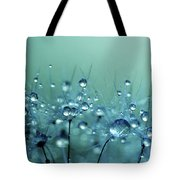 Blue Shower Tote Bag