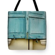 Blue Shutters Rudesheim Tote Bag