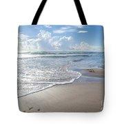 Blue Skies South Padre Island Texas Tote Bag