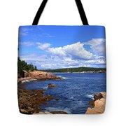 Blue Skies In Maine Tote Bag
