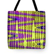 Blue Sky And Color Squares Abstract,#4 Tote Bag