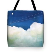 Blue Sky Birds Tote Bag