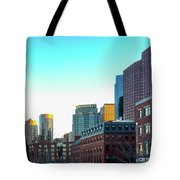 Blue Sky Boston Tote Bag