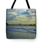 Blue Sky Clearwater Pier 60 Tote Bag