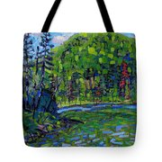 Blue Sky Greens Tote Bag