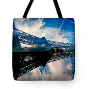 Blue Sky In Paris  Tote Bag
