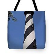 Blue - Sky - Lighthouse Tote Bag