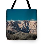 Blue Sky Over Red Rock Tote Bag