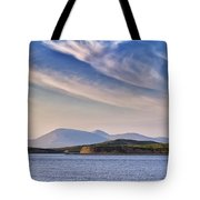 Blue Sky Over The Bay Tote Bag