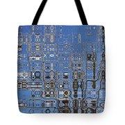 Blue Sky Quilt Tote Bag