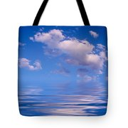 Blue Sky Reflections Tote Bag