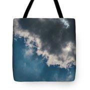 Blue Sky Solar Eclipse Tote Bag