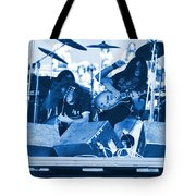 Blue Skynyrd Smoke Tote Bag
