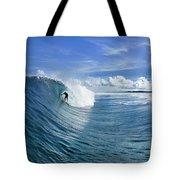 Blue Sling Tote Bag